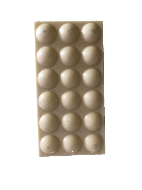 Tablet white chocolate 80g