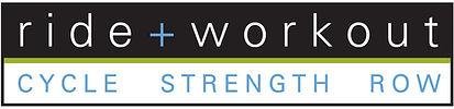 Ride + Workout logo design