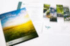CVE promotional brochure and folder design