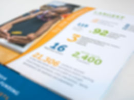 CEOGC annual report spread detail