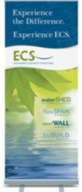 ECS Banner Stand Design