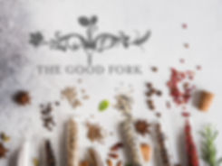 The Good Fork catering logo design