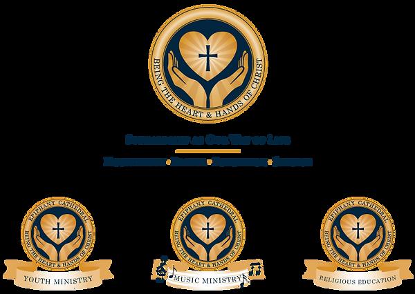 Epiphany Cathedral Catholic Parish Logo Design