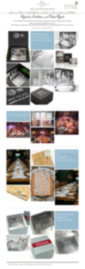 Invite Design corporate invitation web page
