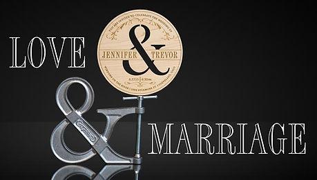 Invite Design ampersand invitation marketing image