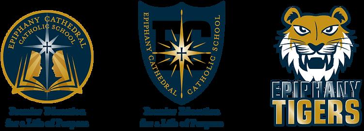 Epiphany Cathedral Catholic School Logos