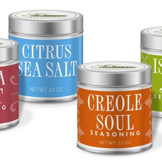 GCooks Spice Label Packaging Design
