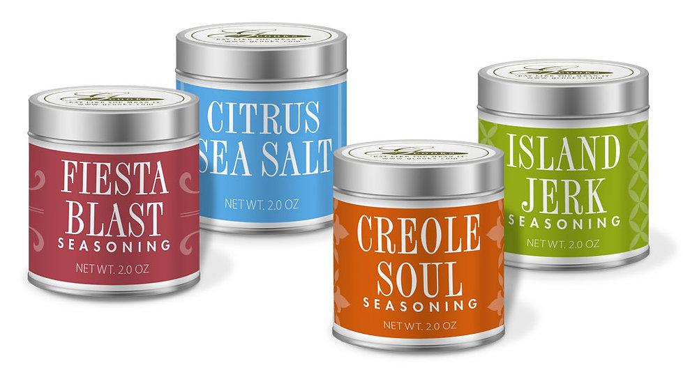 GCooks Spice Label Design