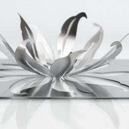 Invite Design Metal Folded Lily Invitation Design