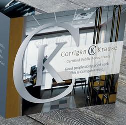 Corrigan Krause Brochure Cover Design