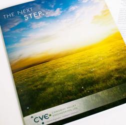 CVE Folder and Brochure Cover