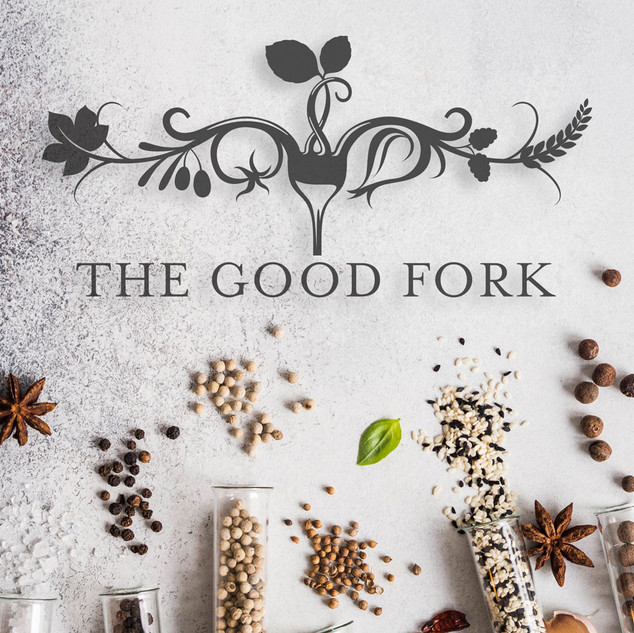 The Good Fork Catering Logo Design