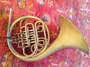 Karl Kramer's second Rauch horn with Yamaha copy mouthpiece