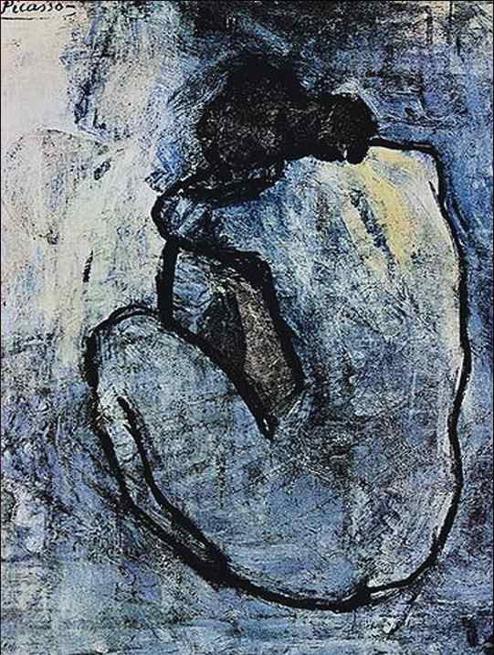 Pabo Picasso: Blue Nude