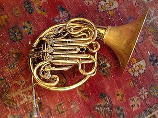 Engelbert Schmid horn owned by Karl Kramer