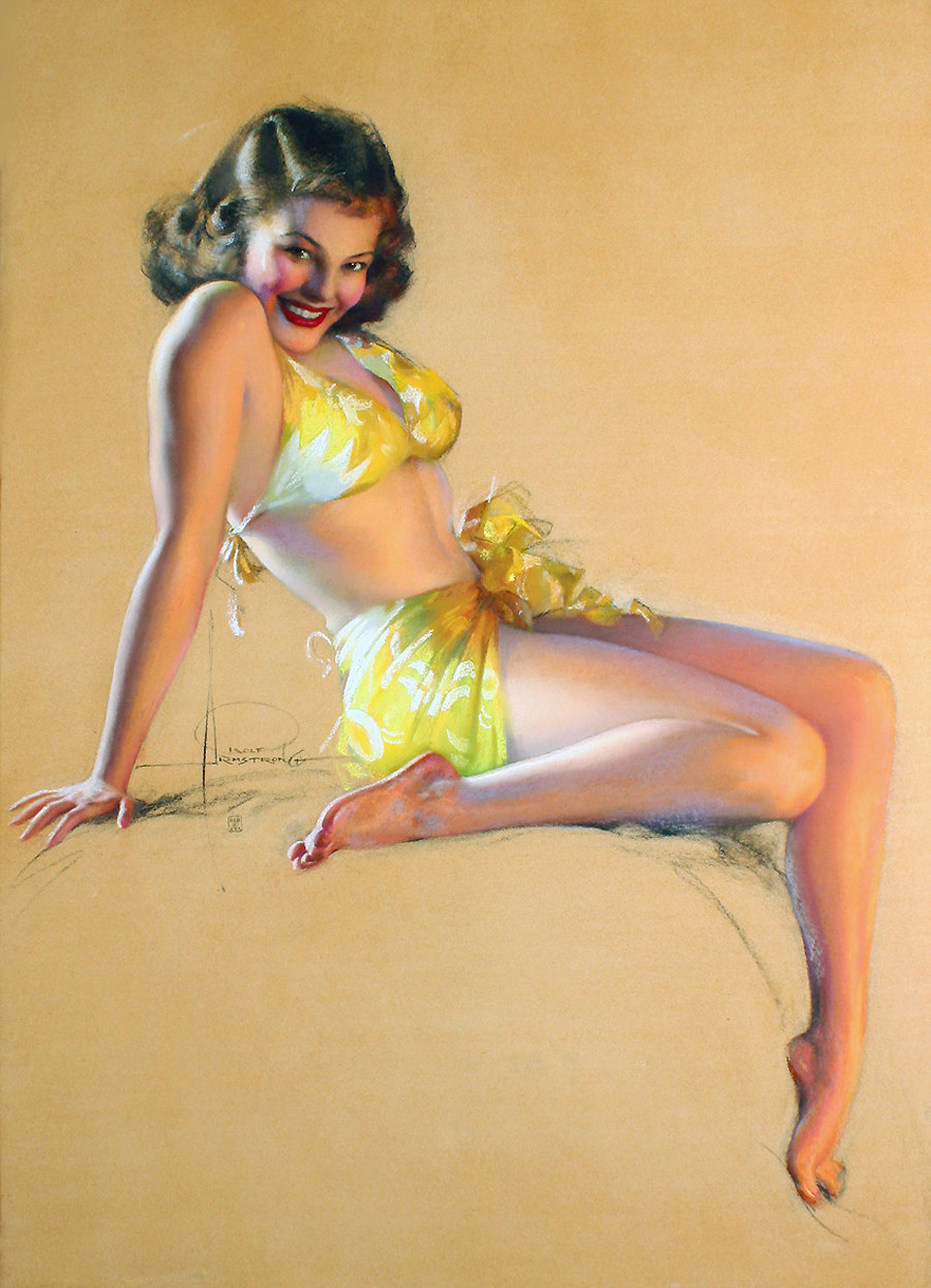 Rolf Armstrong: I'll Say So
