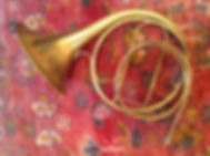 Period instrument, hand-horn by Boosey owned by Karl Kramer