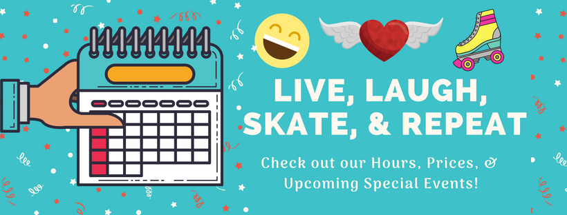 Check out our Hours, Prices, & Upcoming