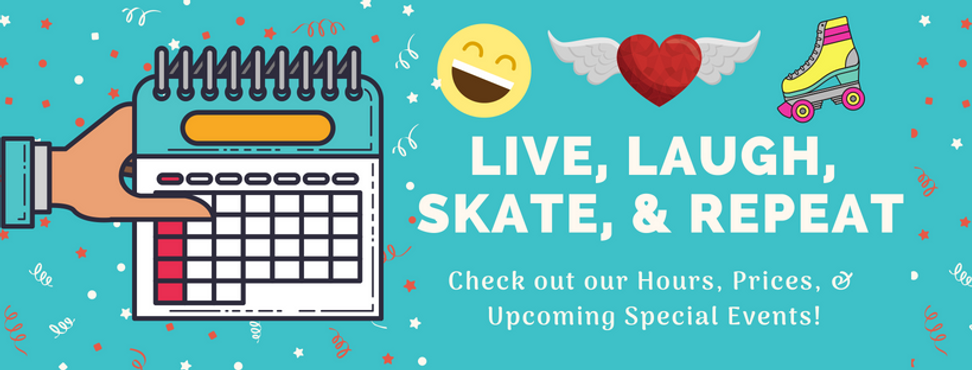 Check out our Hours, Prices, & Upcoming Events