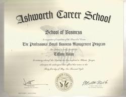 Small Business Management Cert
