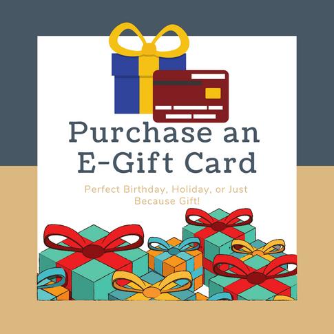Purchase an E-Gift Card
