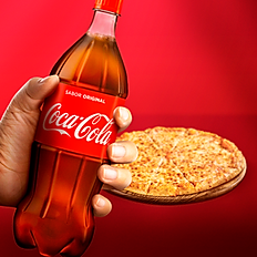 Lg Cheese Pizza & 2-Liter of Soda