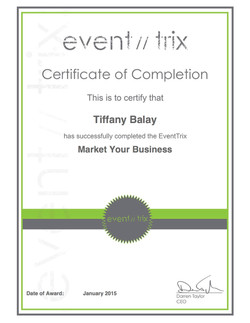 Market Your Business Certificate