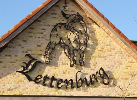 """Nieuw """"gesmeed"""" logo voor Restaurant Lettenburg (Diksmuide)"""