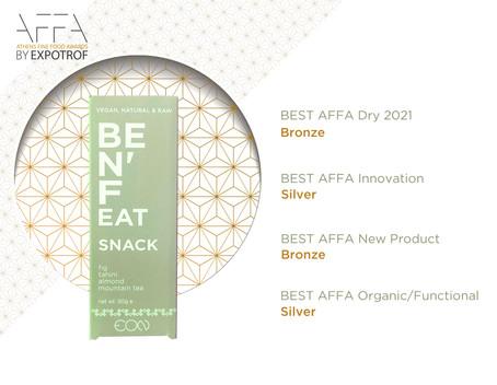 Τα Benefeat Snack στα βραβεία AFFA 2021!