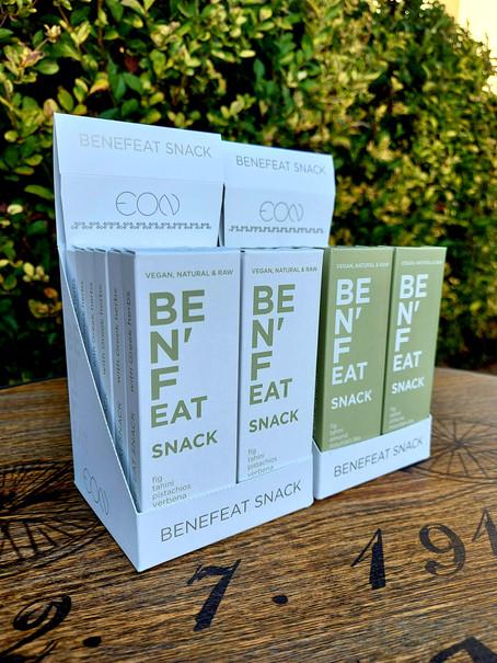 Νεό προϊόν: Καινοτόμα και λειτουργικά Benefeat Snack!