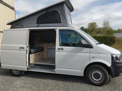 conversion VW T5 L1H1 camper van