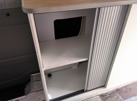 aménagement modulaire VAN FOURGON