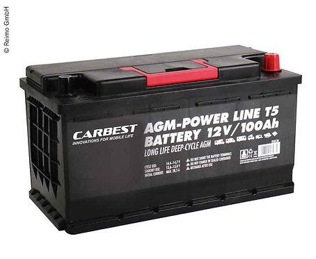 Batterie 100ah CARBEST AGM