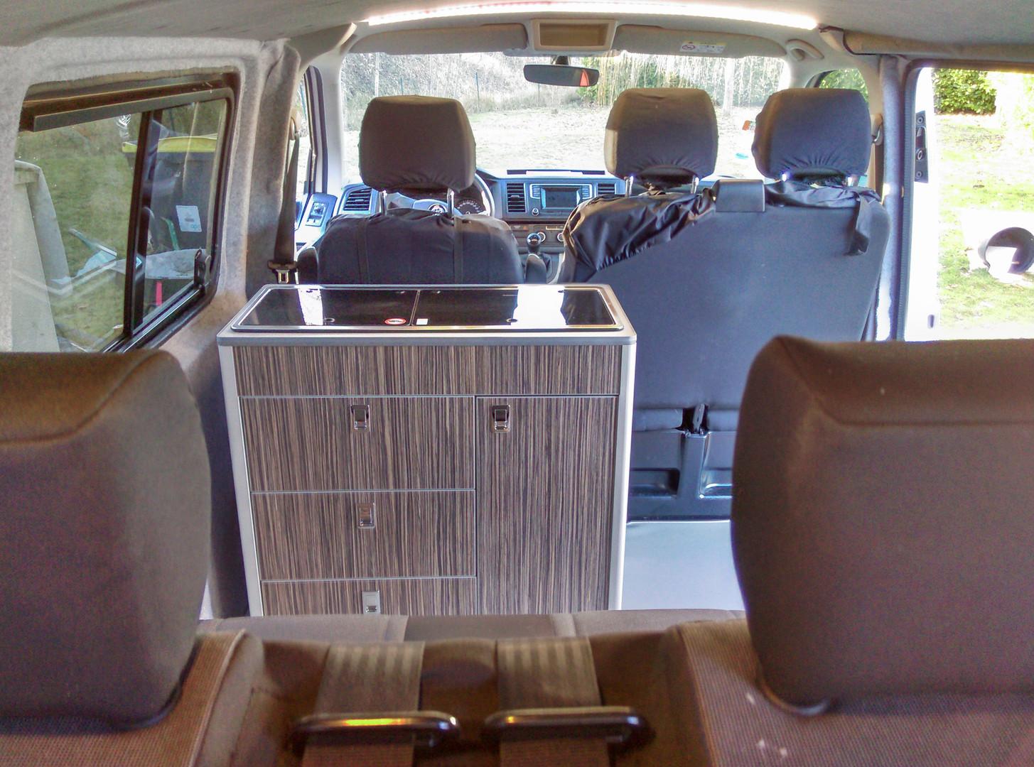 conversion VW T6 CAMPERVAN