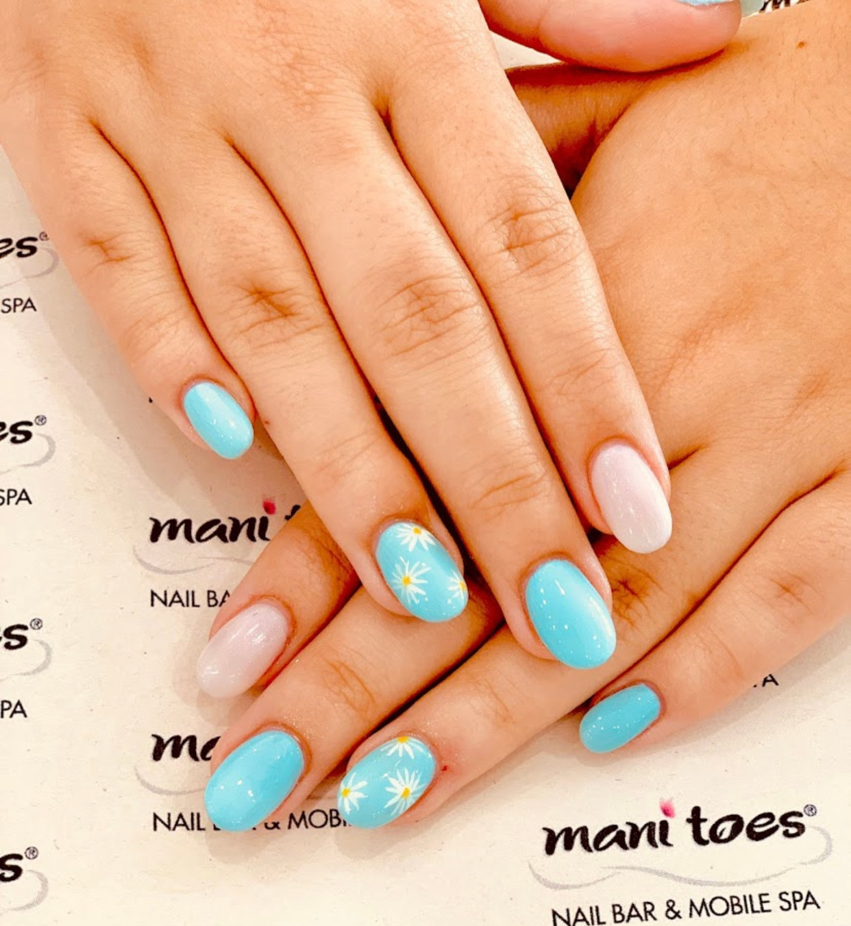 All About Me Mani With Reg. Polish