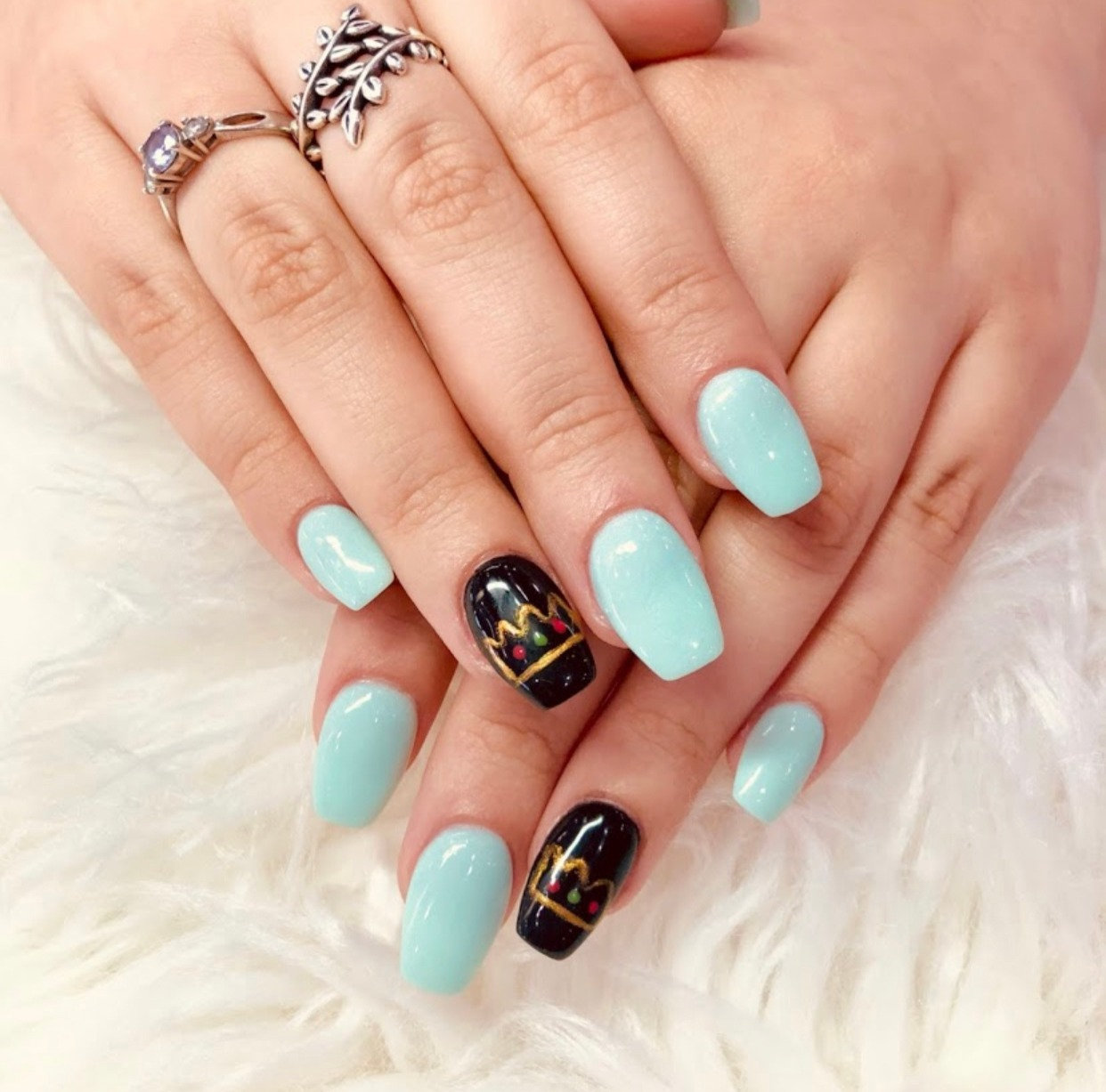SNS Dipping with Manicure