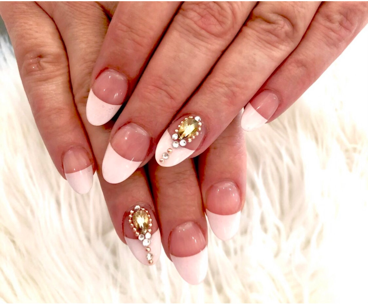 Pink & White Gel Fill