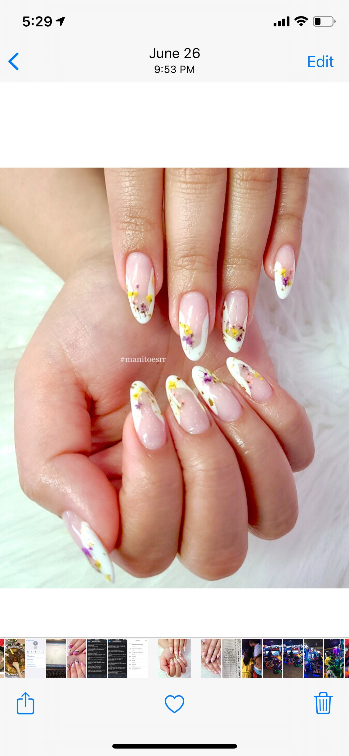 SNS Dipping with Tips + Manicure