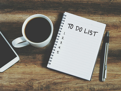"Make a ""Done "" List , not ""To Do"" List"