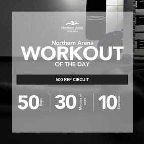 Workout At Home - 500 Rep Circuit