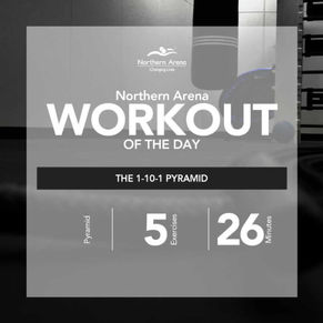 Workout At Home - The 1-10-1 Pyramid