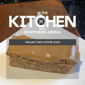 Walnut and Coffee Slice