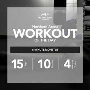 Workout At Home - 6 Minute Monster