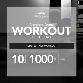 Workout At Home - The 1000 Partner Workout
