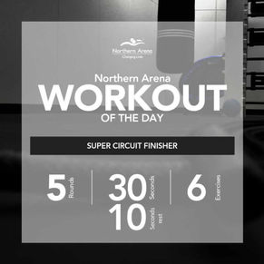 Workout At Home - Super Circuit Finisher