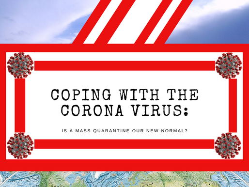 Coping With The Coronavirus: