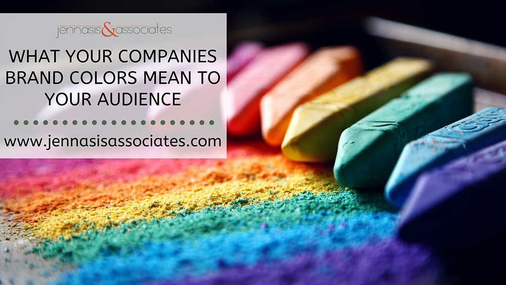 What Your Companies Brand Colors Mean to Your Audience