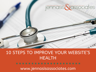 10 Steps to Improve Your Website's Health