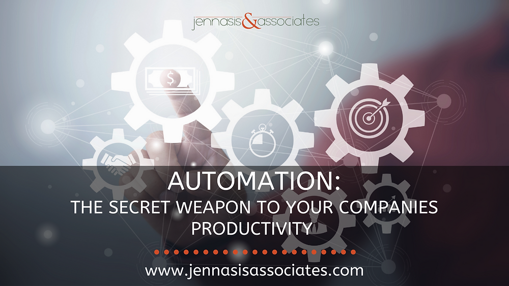 Automation: The Secret Weapon for Your Company's Productivity