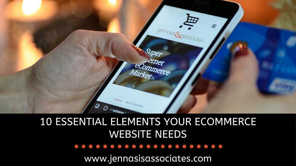 10 Essential Elements Your Ecommerce Website Needs